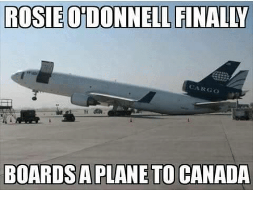 rosie-o'donnell-boards=plane
