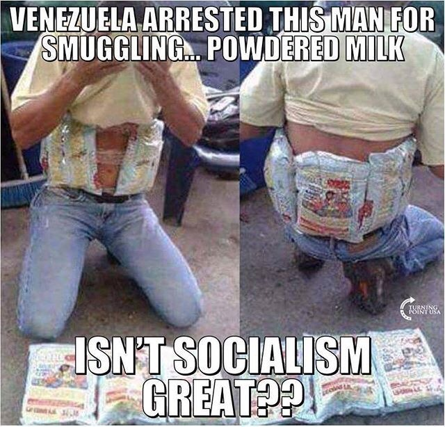 Socialism-smuggling-milk