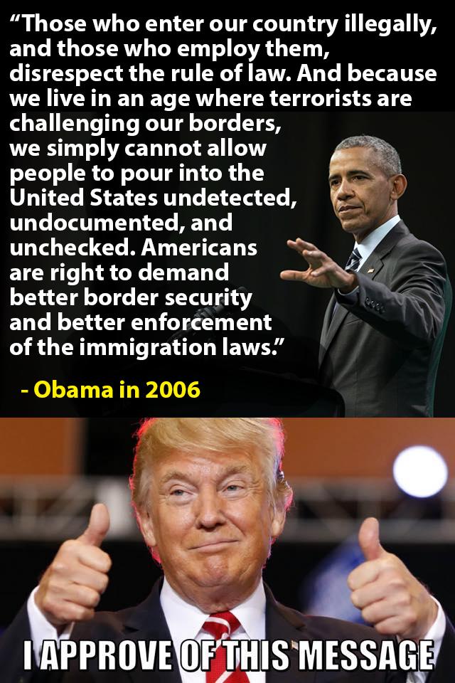 Trump-Obama-Illegals