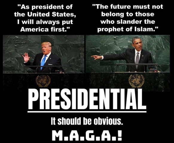 Trump vs Obama-MAGA