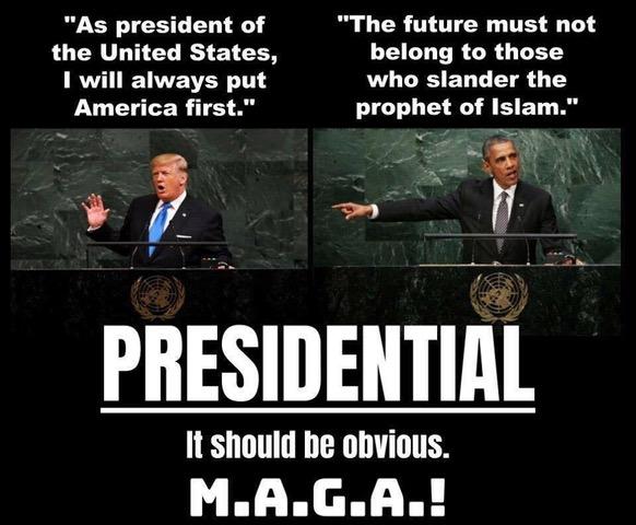 Trump vs Obama-MAGA