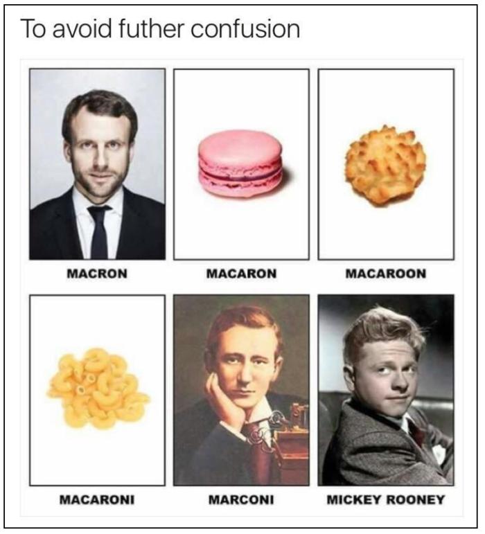 Macron-macaron