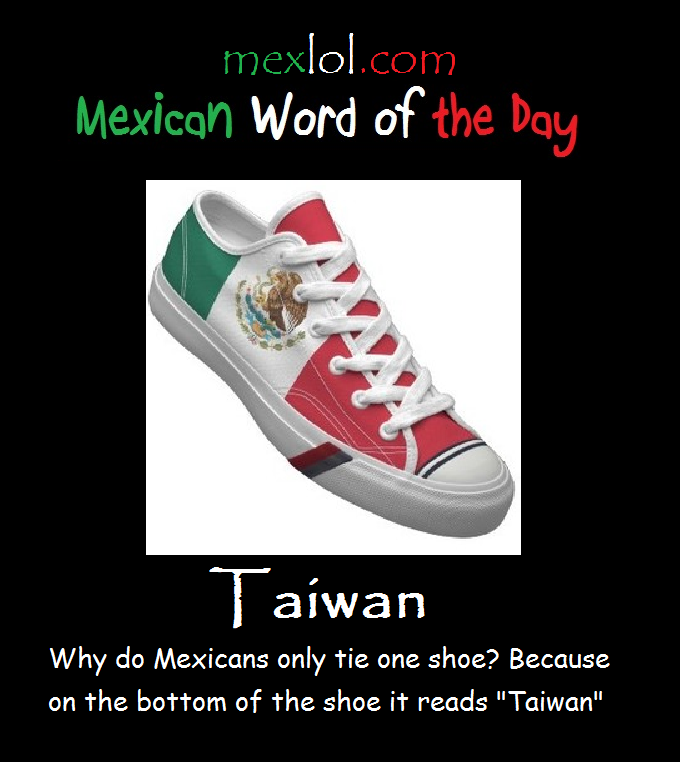Mexican-Word-of-the-Day-Taiwan