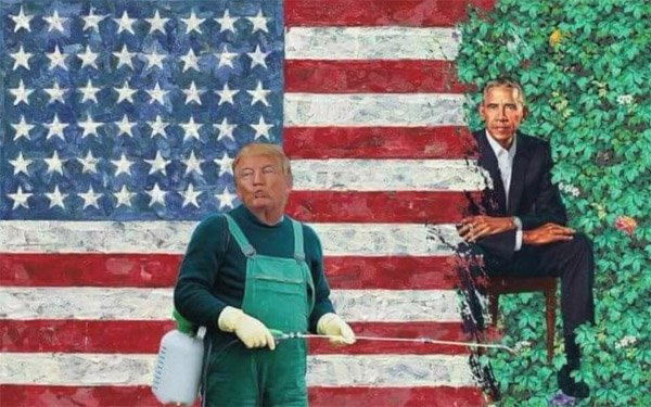Obama-trump-weeds