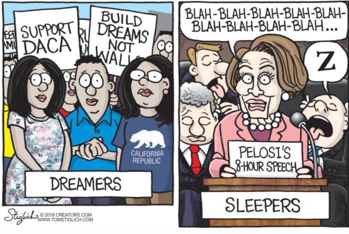 Pelosi-dreamers-sleepers