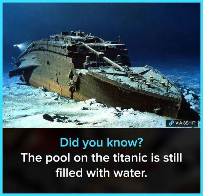 Titanic Swimming pool