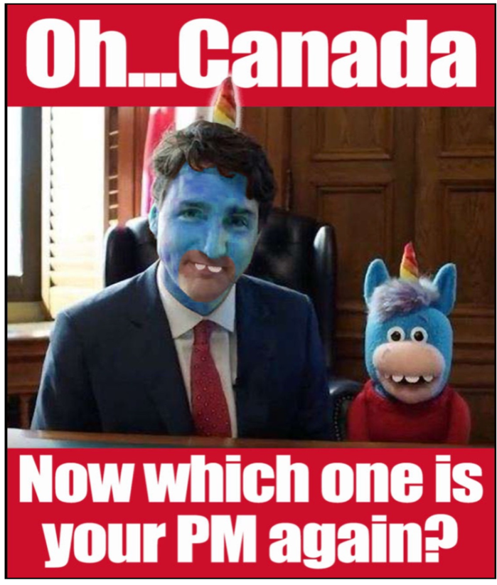 Trudeau-clown