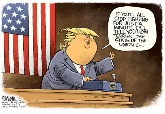 Trump-y'all stop fighting