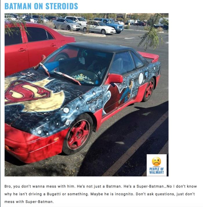 Walmart Car Show - Batman
