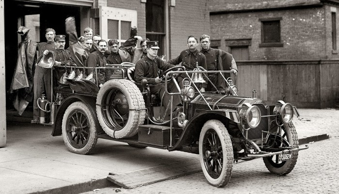 1911 packard truck in Detroit