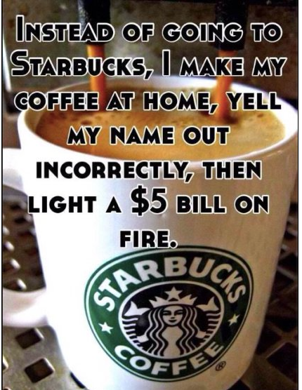 $5 Starbucks