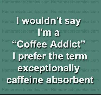Caffeine absorbent