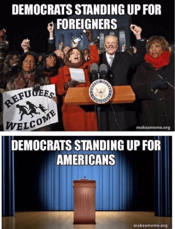 Democrats-Standing up