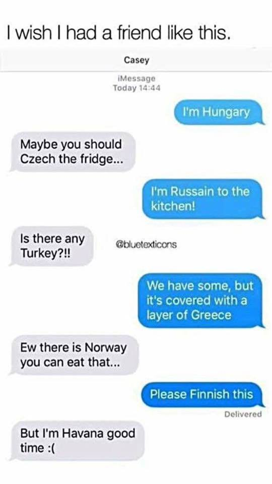 I'm Hungary