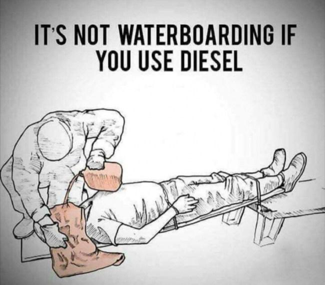 it's not waterboarding