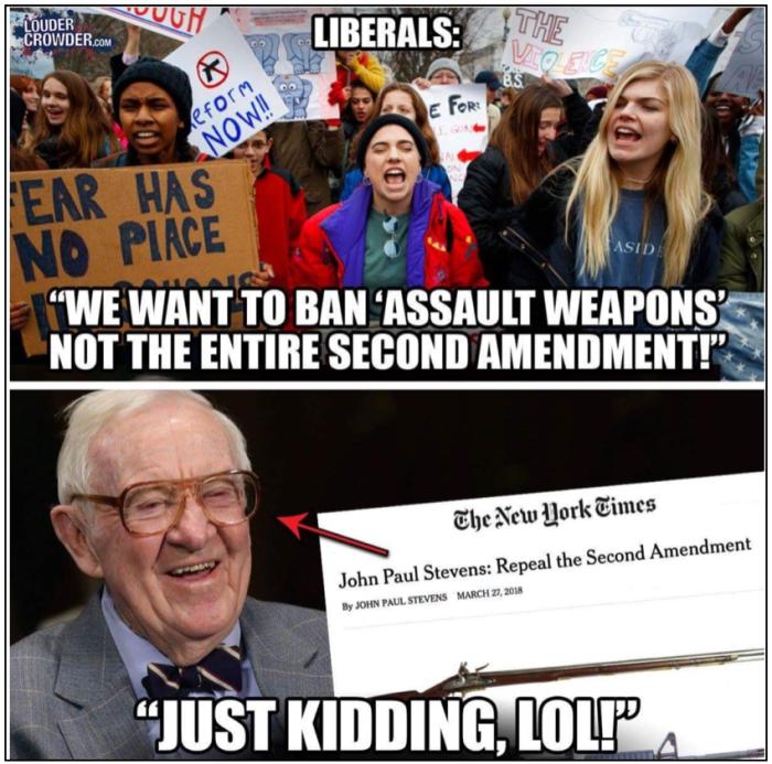 Libruls-2nd Amendment