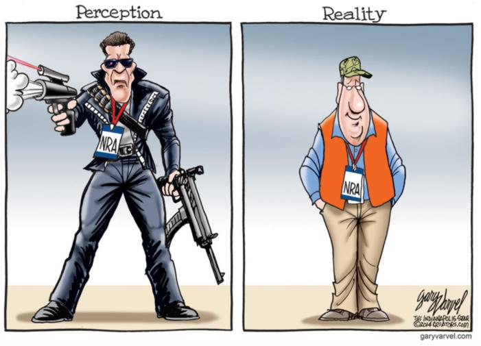 NRA-Pereception-reality