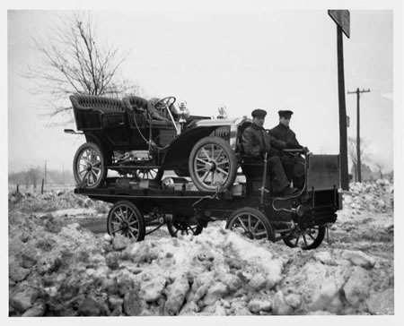 Packard Truck & Car