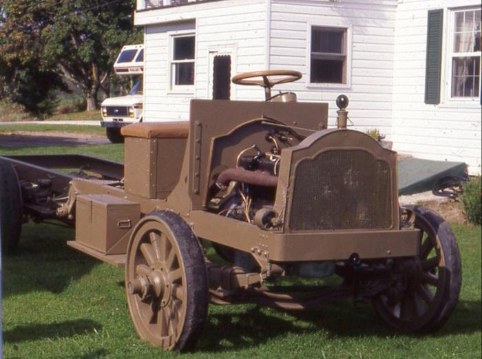 Packard truck-no body