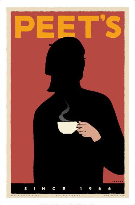 Peet's poster