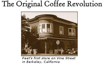 Peet's-Walnut Vine store