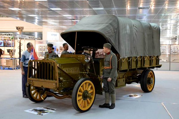 Serbian Army Packard on display in Belgrade