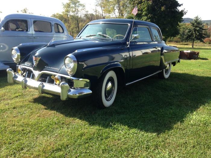 Studebaker at Packard truck meet