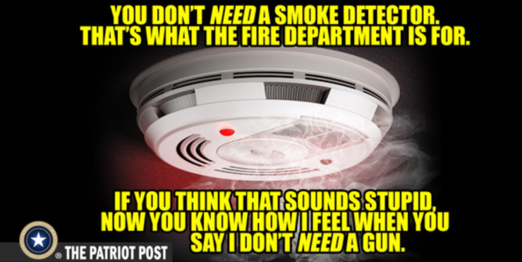 2nd amendment-smoke detector