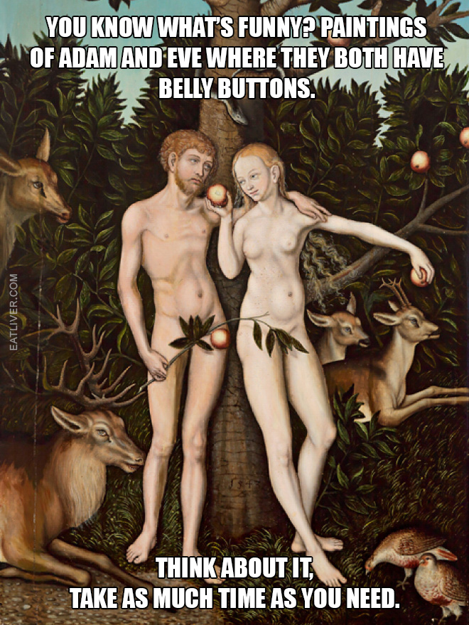 belly-buttons