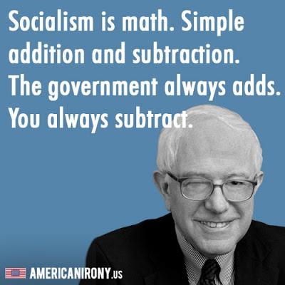 Bernie does the math
