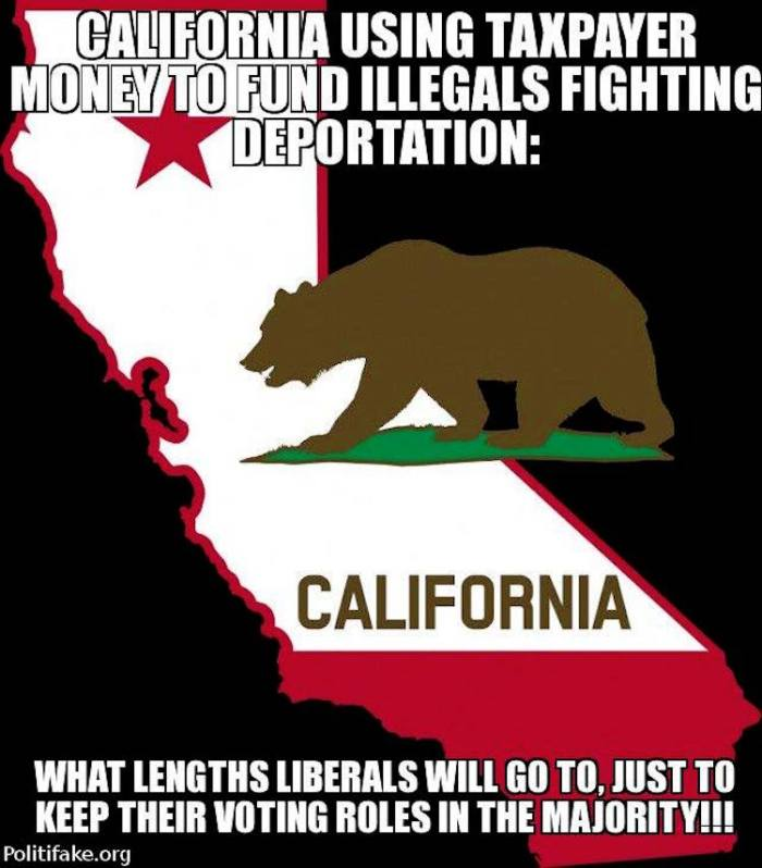California illegals