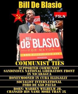 deBlasio communist