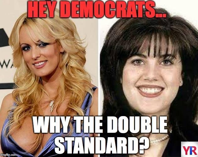 Democrats double standards