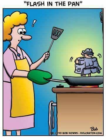 Falsh in the pan