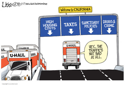 Fleeing Crazifornia