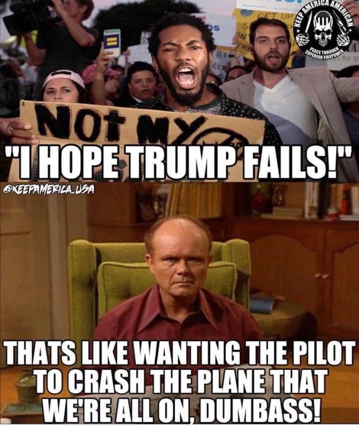 He hopes Trump fails