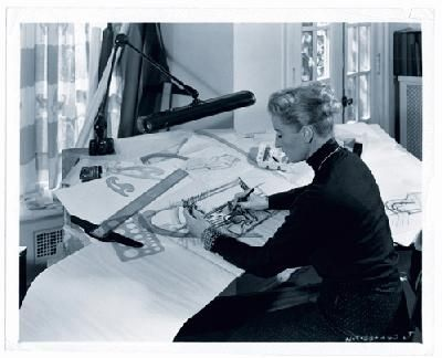 Helene Rother-at work