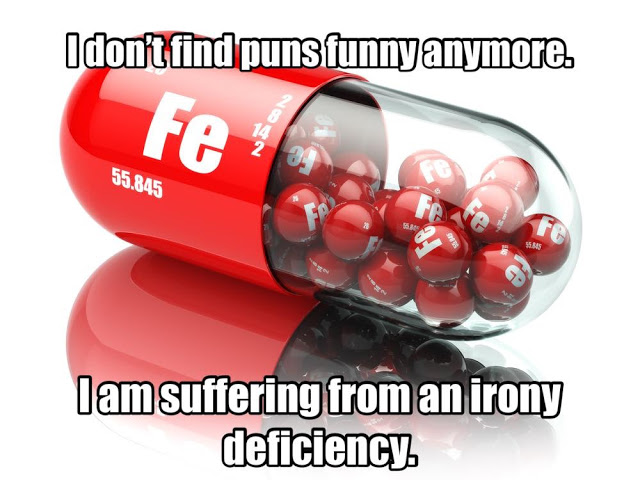 Irony deficiency