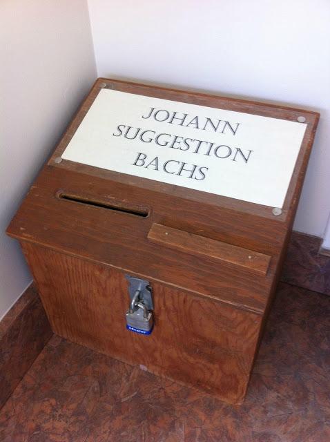 Johann Suggestion Bachs