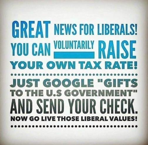 Librul tax hike