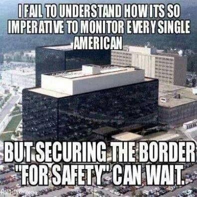 Monitor the border