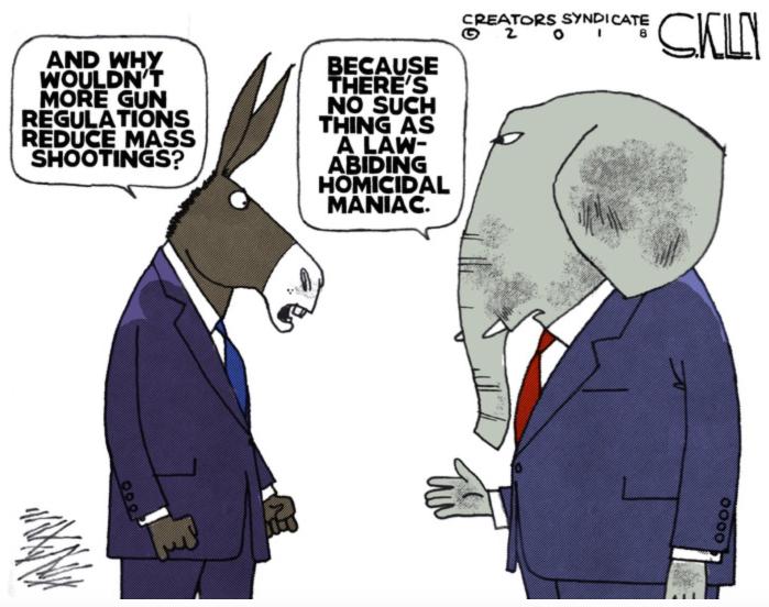 'rats vs. GOP - Gun Control