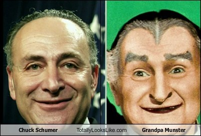 Separated at birth-Schmuck:Munster