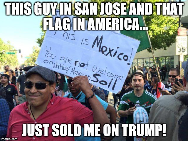 Sold me on Trump