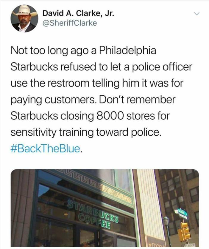 Starbucks-Police