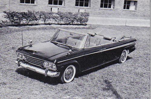 Studebaker Israeli parade car