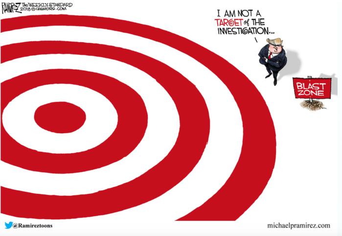 Trump-Mueller-target