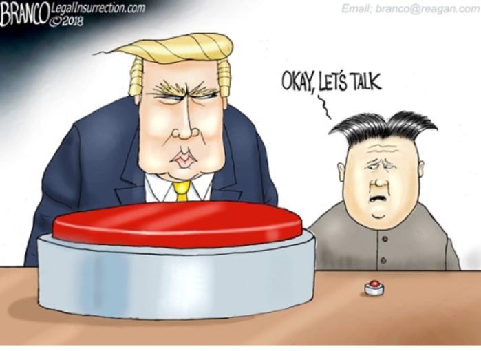 Trump-rocket man - talk