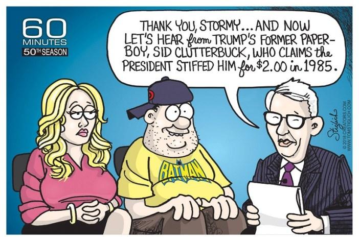 Trump's paperboy
