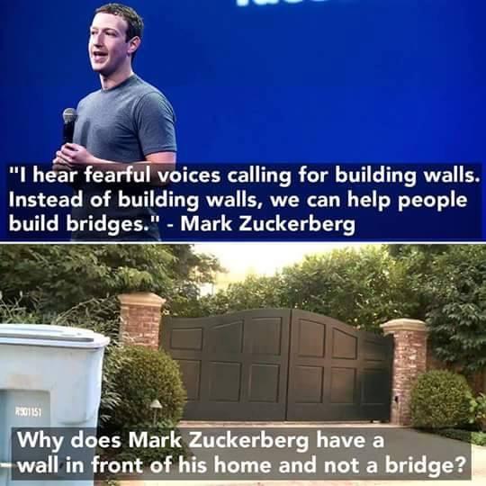 Zuckerberg-wall